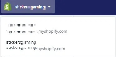 showcase of multiple shopify stores