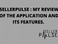 SellerPulse : My review of the application and its features.